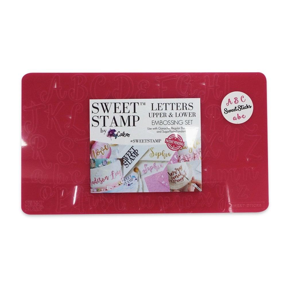 Empreintes de Lettres Majuscules et Minuscules - Sweet Sticks