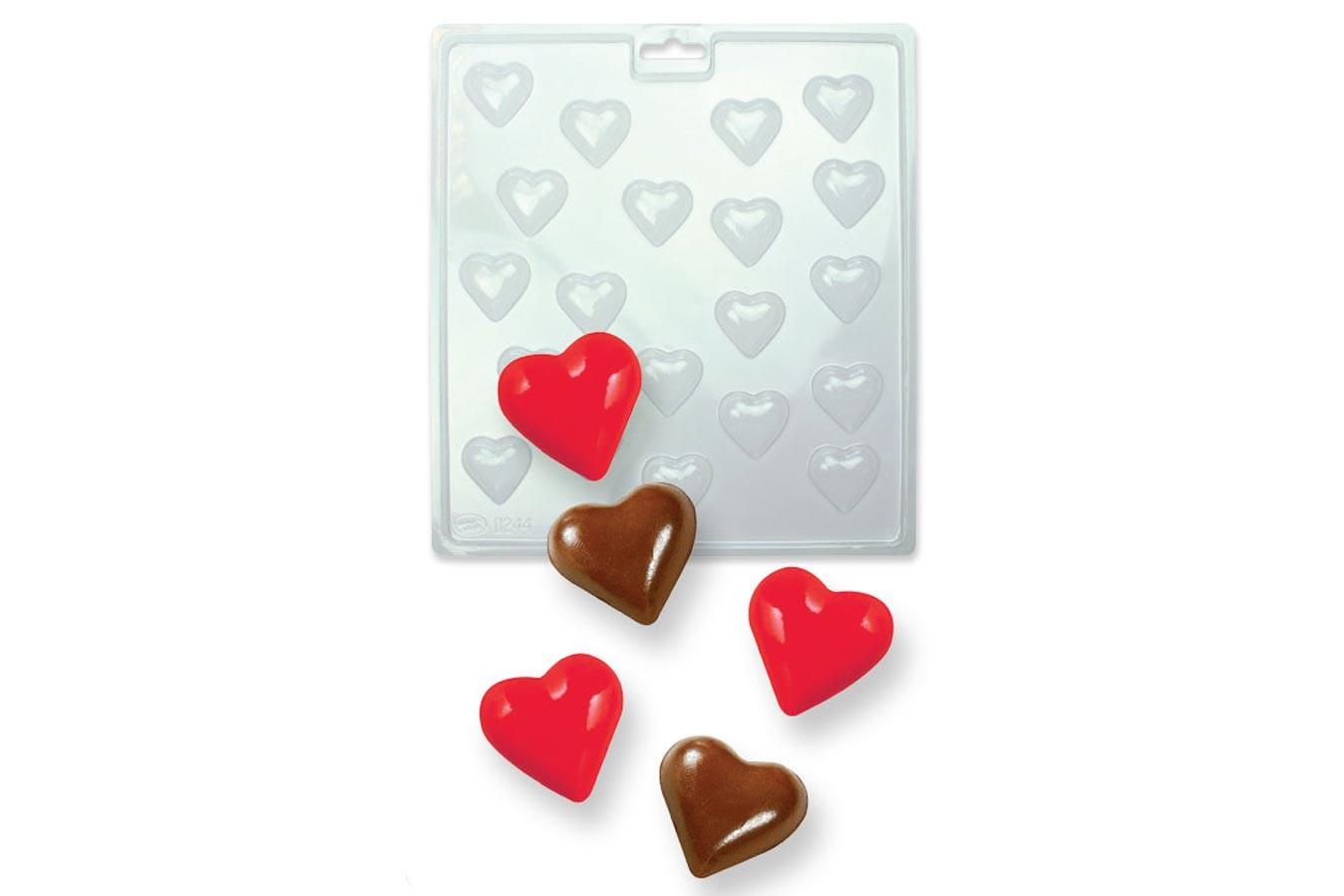 Moule pour chocolat - Mini Coeurs