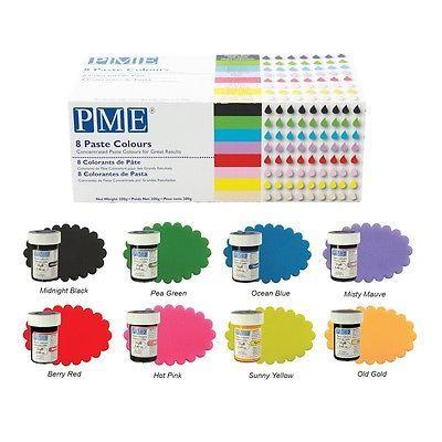 Colorant alimentaire en gel 25 g PME – Choisir la couleur