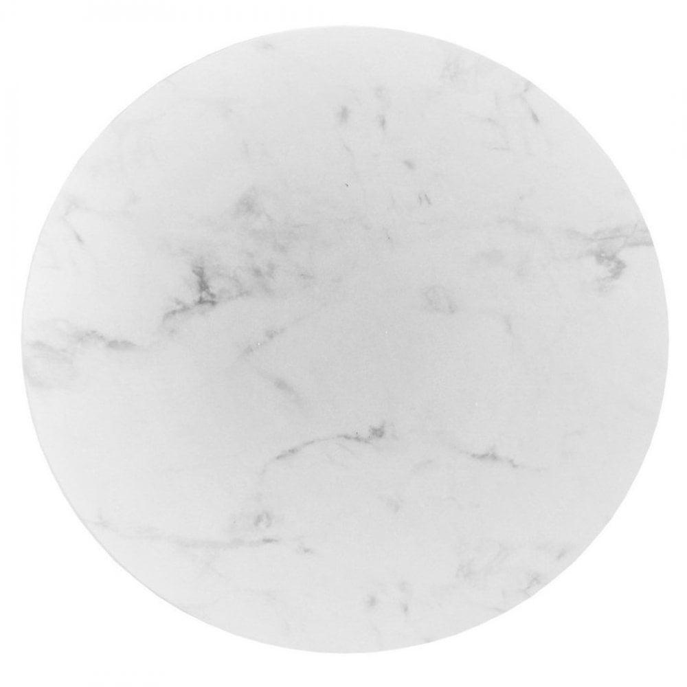 Semelle à gâteaux Rond – Marbre Blanc – Choisir la taille
