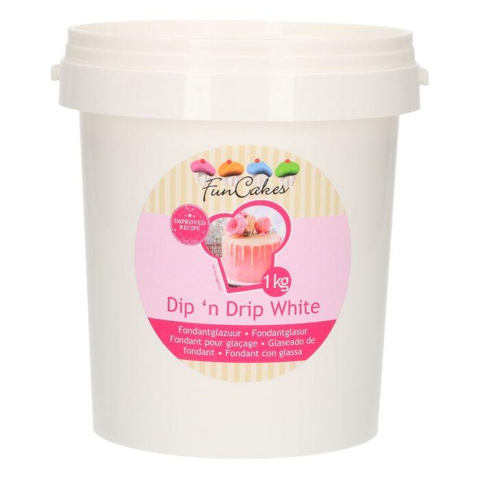 Fondant pour glaçage 1 kg - Blanc