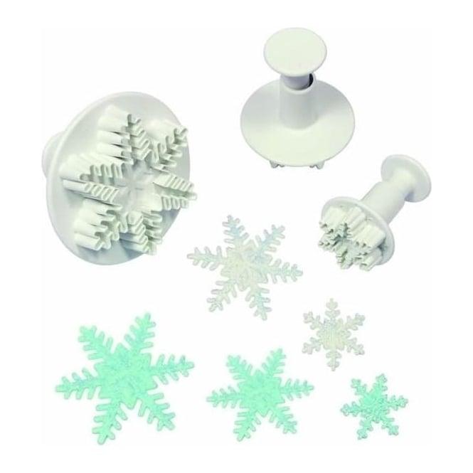 Emporte-pièce à poussoir: Flocon de neige