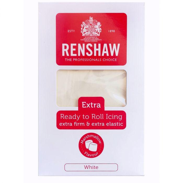 Pâte à sucre Extra 1 kg – Blanc Marshmallow