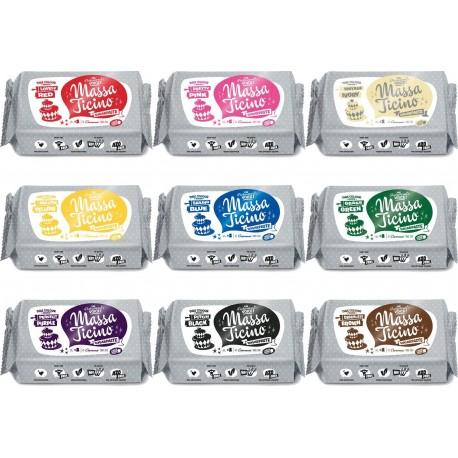 Pâte à sucre Massa Ticino 250 g – Choisir la couleur