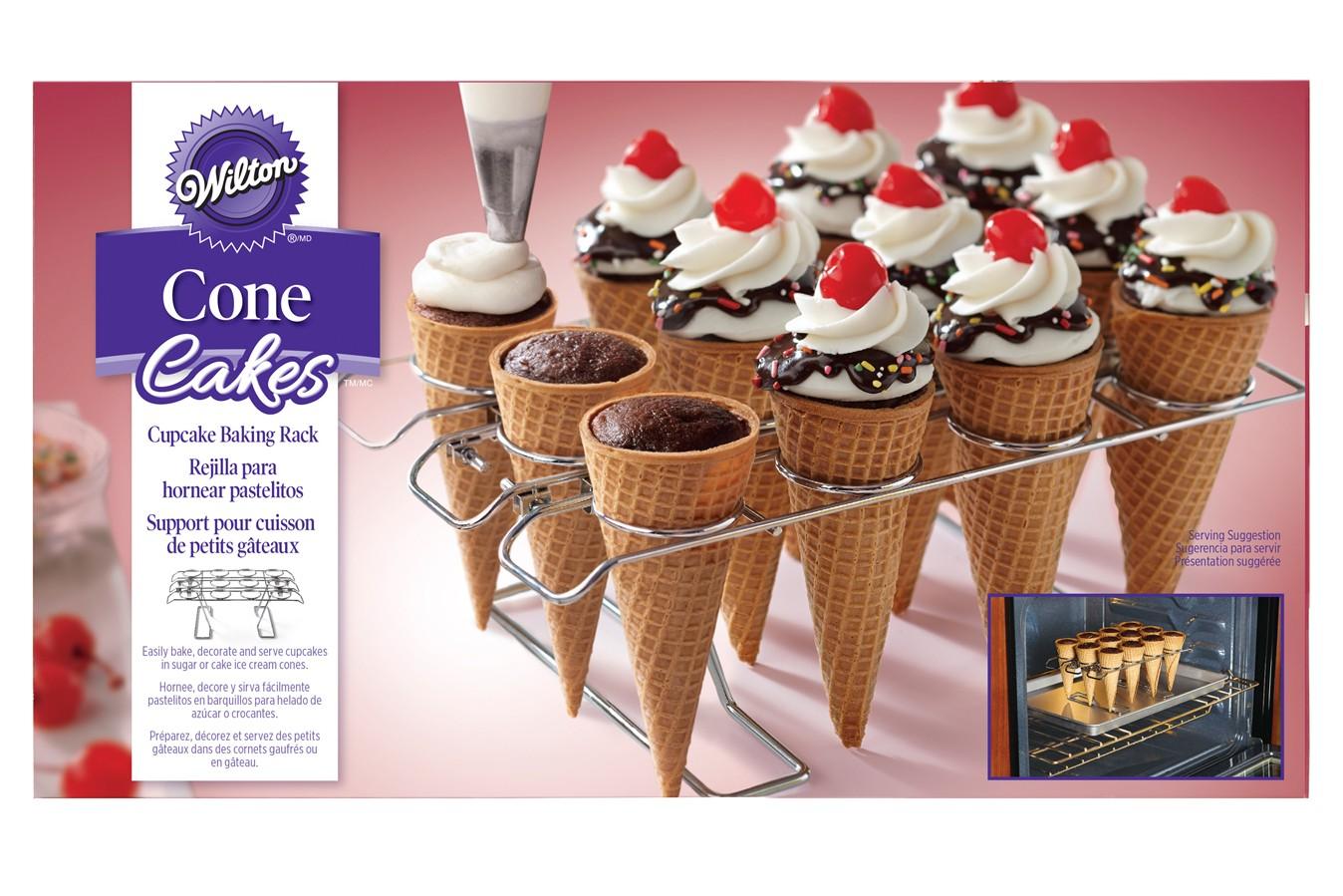 Support à Cone Cakes - 12 cavités