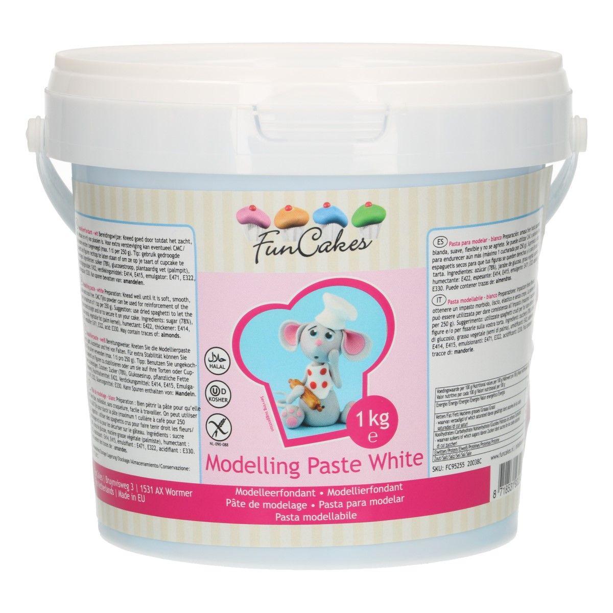 Pâte à modelage 1 kg – Blanc