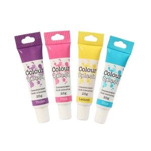 Colorant alimentaire en gel – Licorne - Lot de 4