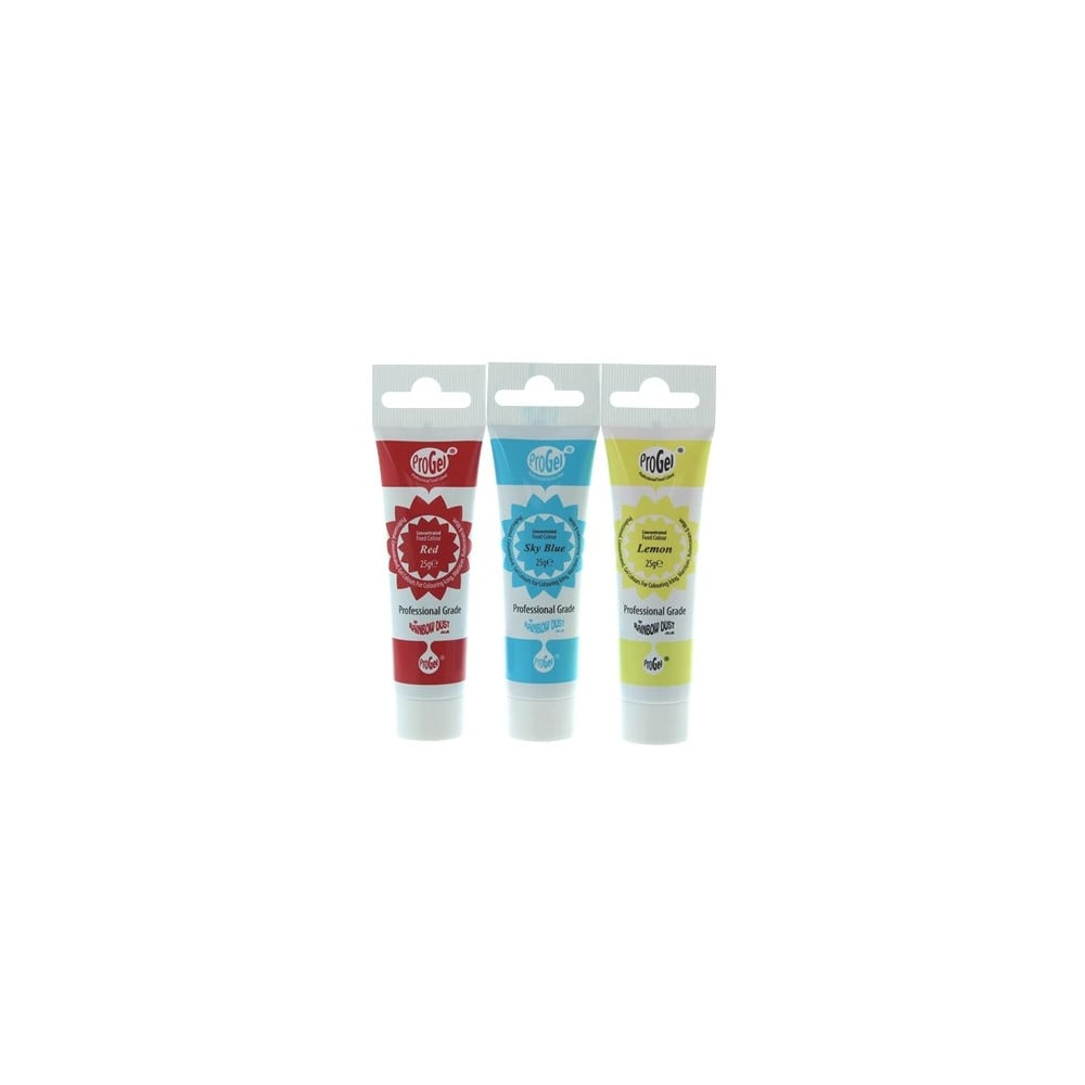 Colorant alimentaire ProGel – Primaires - Lot de 3