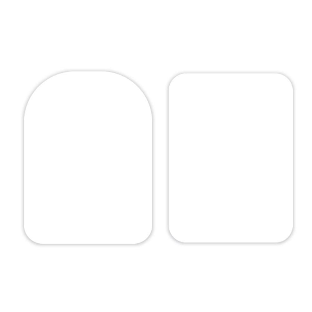 Lisseurs souples 10.5 cm – Lot de 2