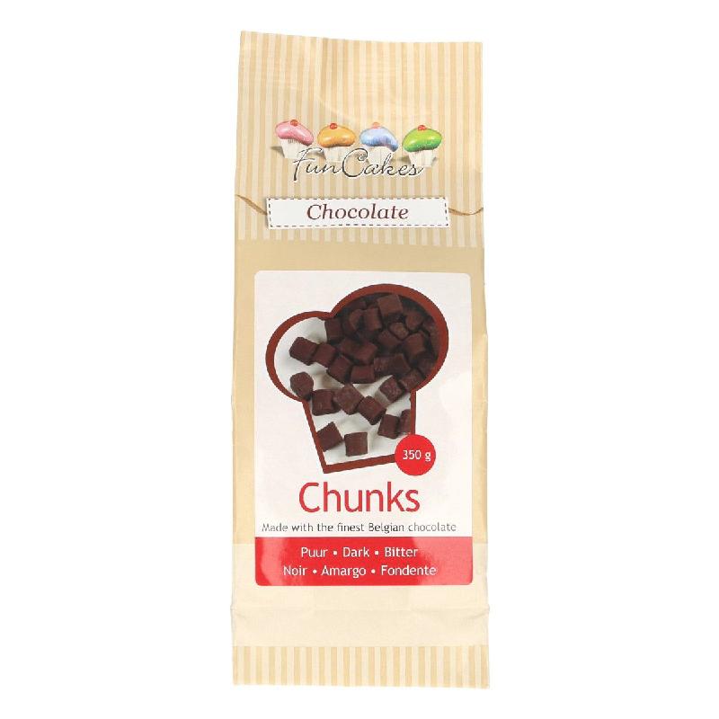 Grosses Pépites de Chocolat Noir - 350 g