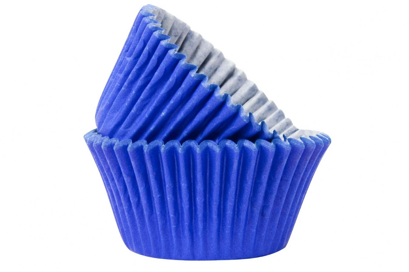 Caissettes à Cupcake - Bleu Foncé - Lot de 50