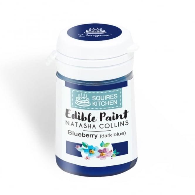 Peinture Alimentaire 20 g - Myrtille (bleu foncé)