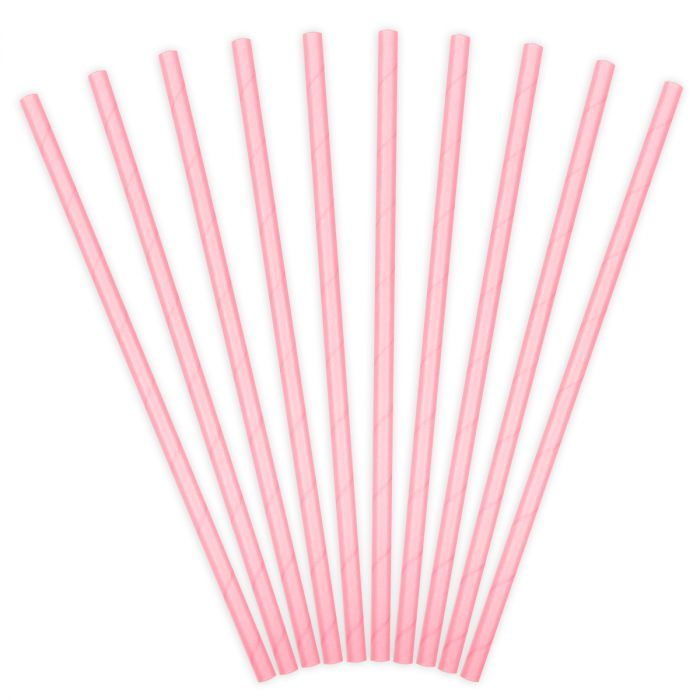 Bâtonnets à Cake Pop - Rose -  Lot de 10