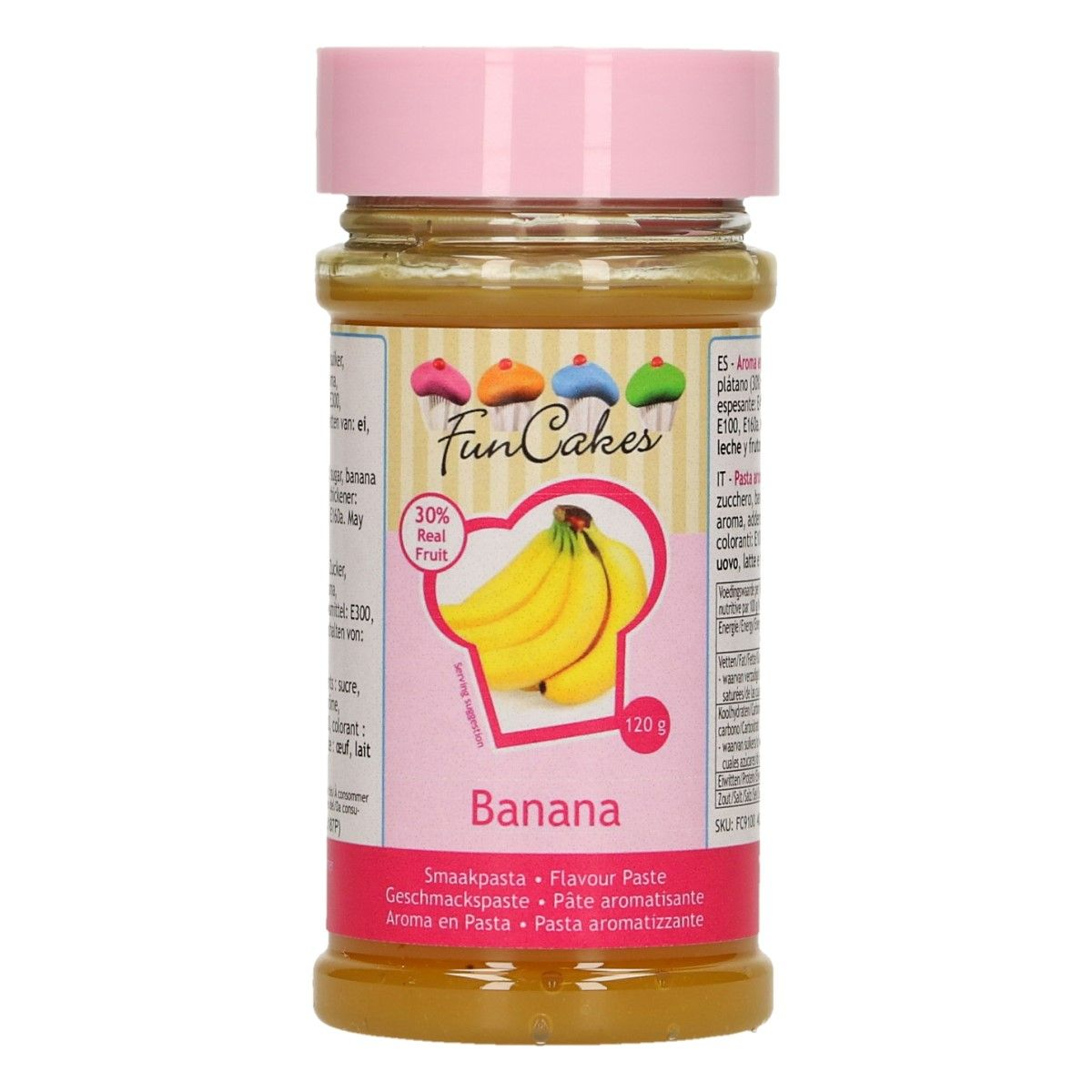 Arôme en pâte - Banane 120 g