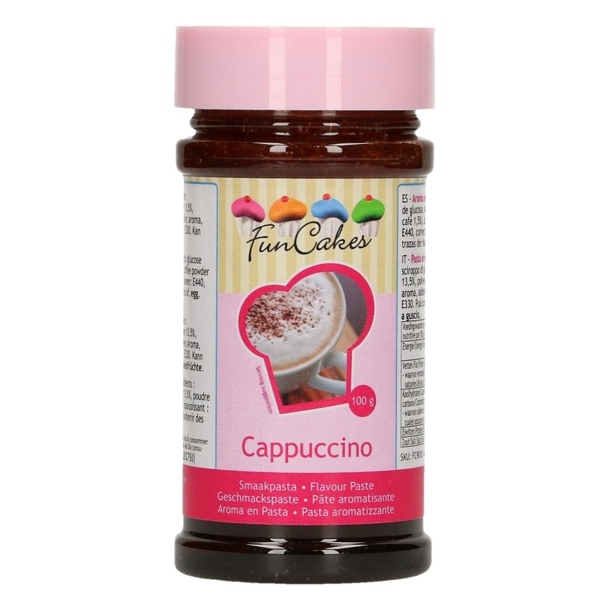Arôme en pâte - Cappuccino 100 g