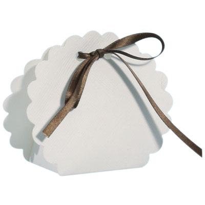 Ballotin - Petit Sac à dragées - Blanc