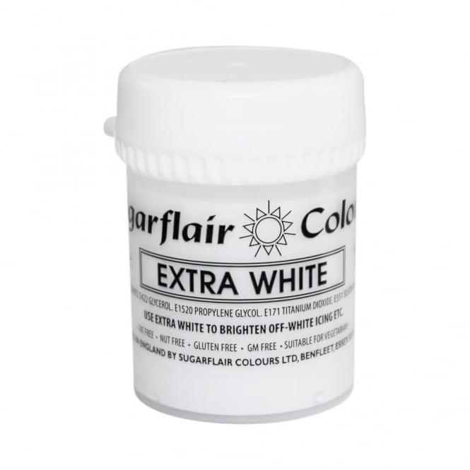 Colorant alimentaire en gel 42 g - Blanc