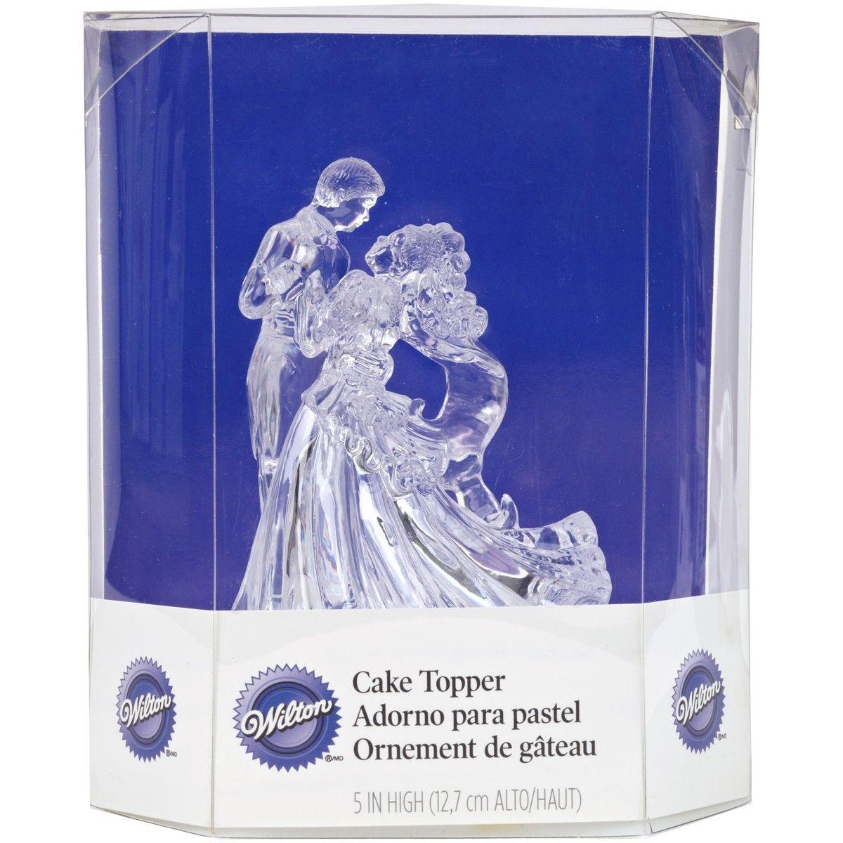 Figurine de Mariage Transparent - Danse de Couple