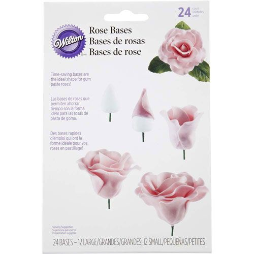 Base de rose - Lot de 24