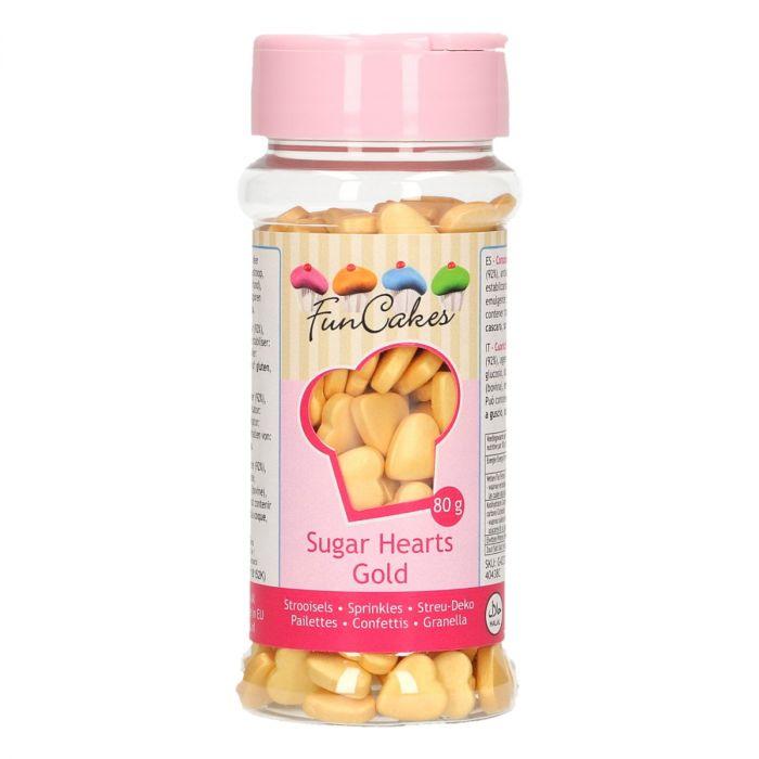 Confetti 80 g - Coeur - Or