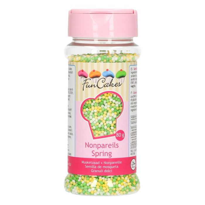 Mini perles en sucre 80 g - Printemps