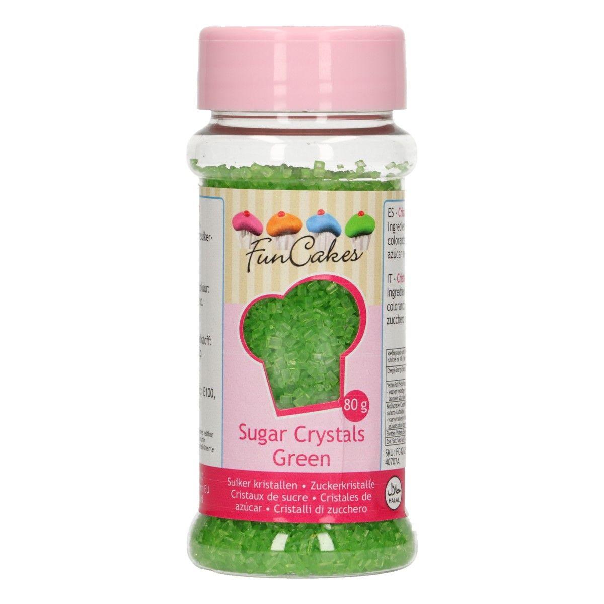 Sucre Crystal 80 g- Vert