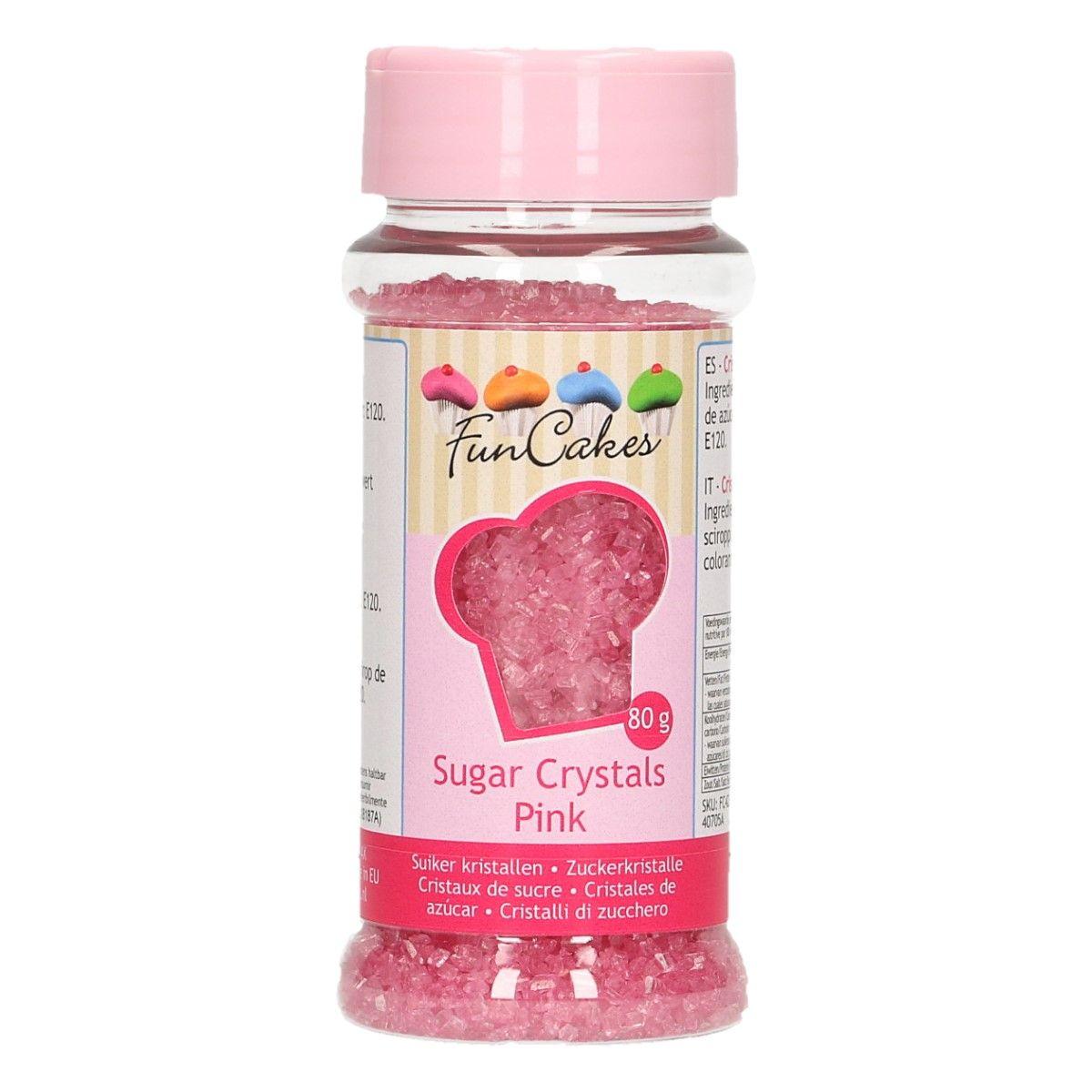 Sucre Crystal 80 g- Rose