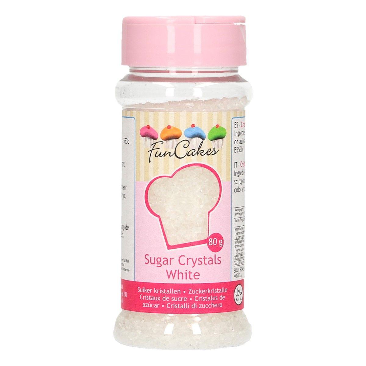Sucre Crystal 80 g- Blanc