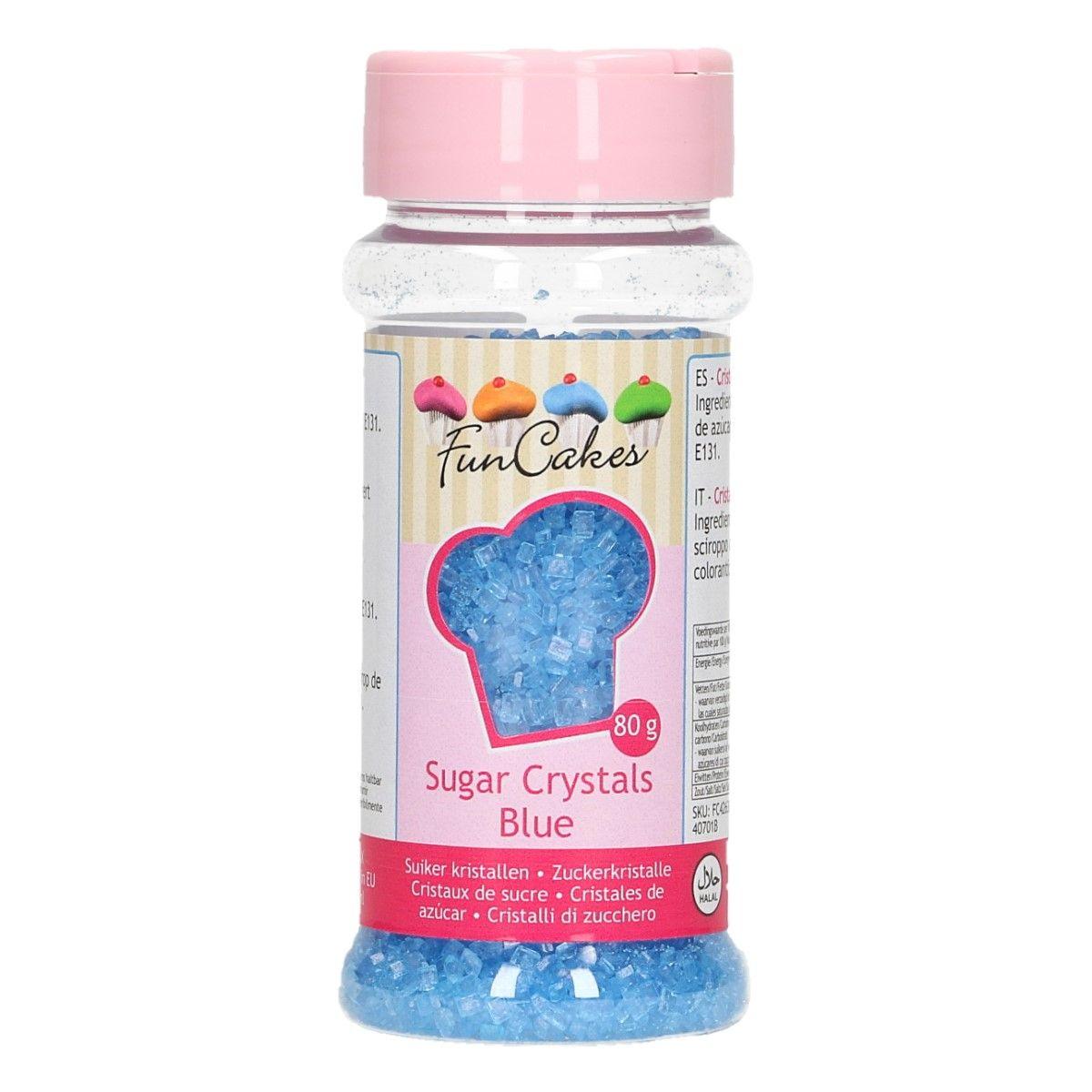 Sucre Crystal 80 g - Bleu