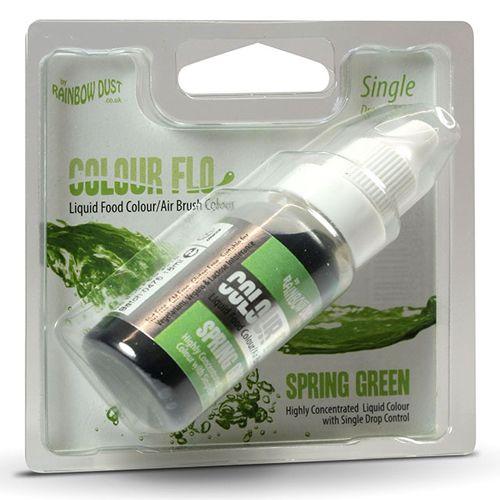 Colorant alimentaire liquide 19 ml - Vert de Printemps