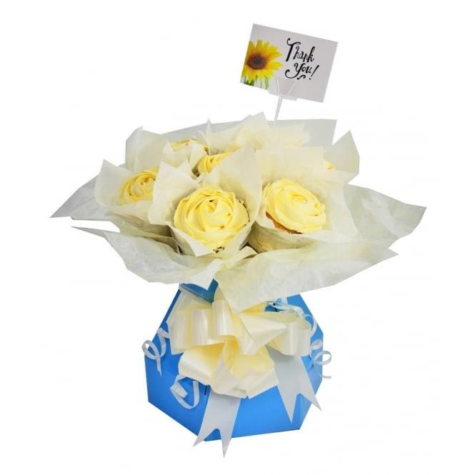 Boîte à bouquet pour cupcake Kit – Bleu