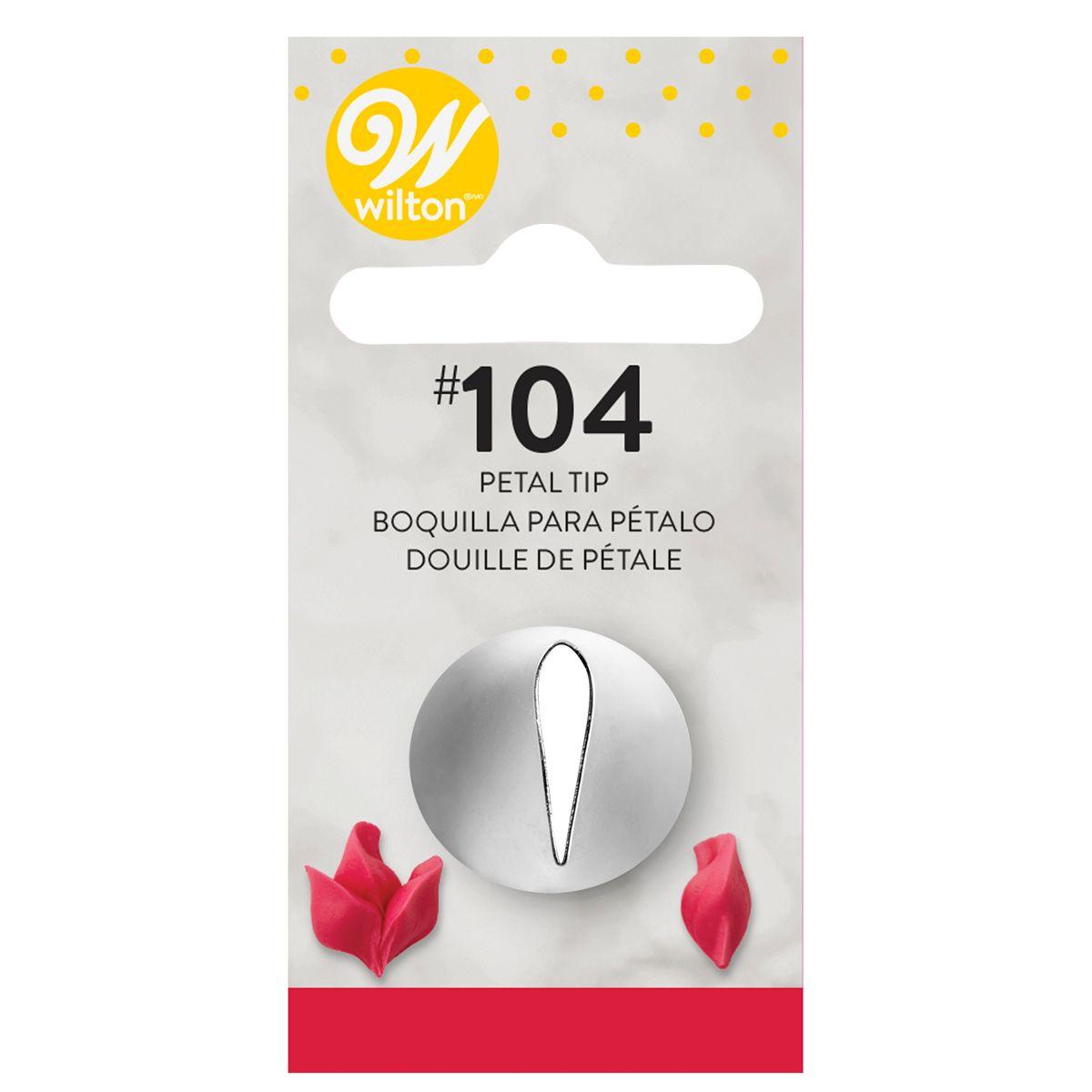 Douille pâtissière – Pétale #104