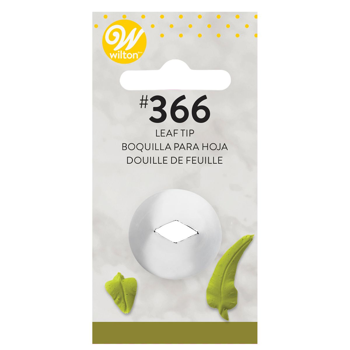 Douille pâtissière – Feuille #366