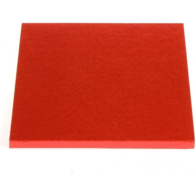 Plateau à gâteaux carré – Rouge – Choisir la taille