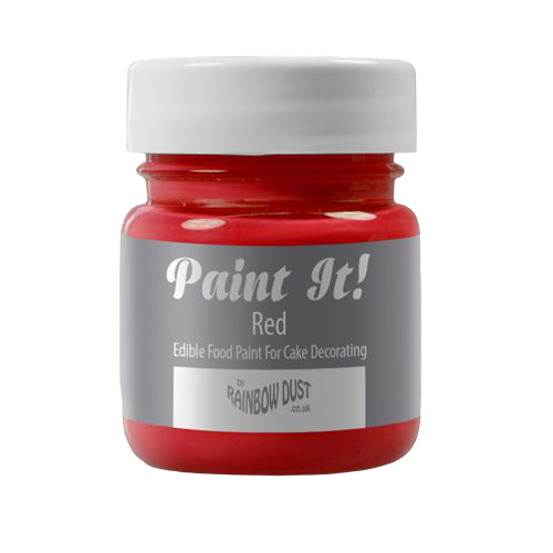 Peinture alimentaire 25 ml - Rouge