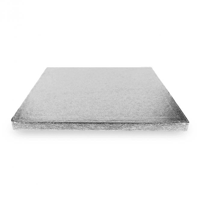 Plateau à gâteaux carré - Argent - Choisir la taille