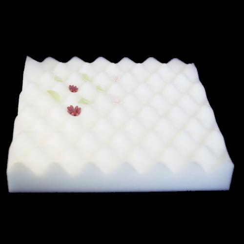 Grand mousse à séchage de fleur – Blanc