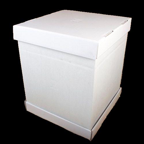 Boîte à gâteau solide - 37 cm