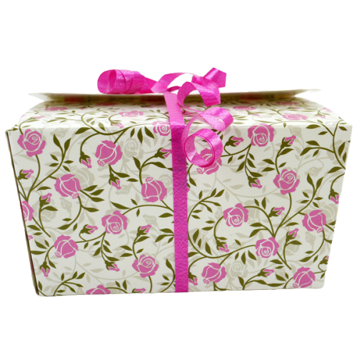 Ballotin - Rectangle - Rose Floral