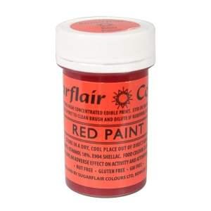 Peinture Alimentaire 20 g – Rouge