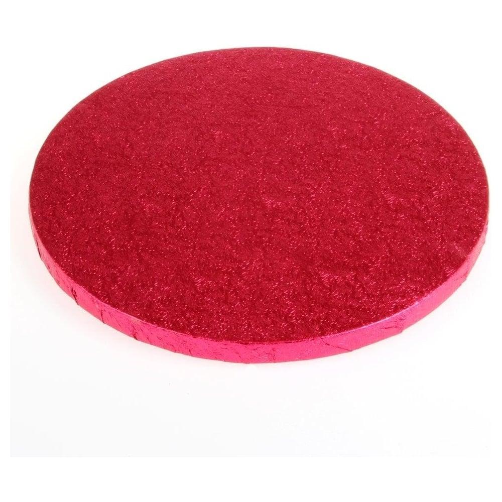 Plateau à gâteaux rond - Rose cerise- Choisir la taille