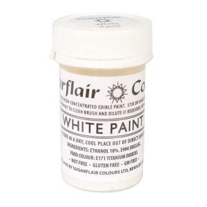 Peinture Alimentaire 20 g – Blanc