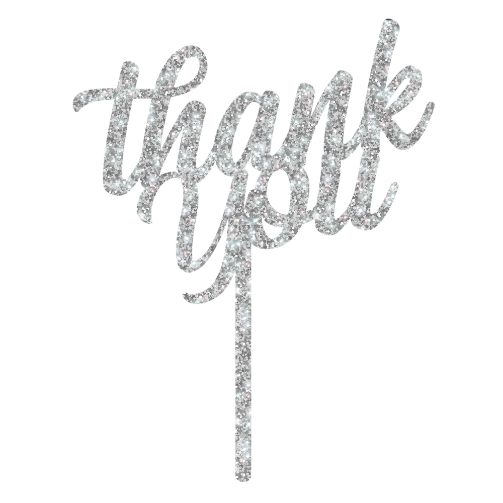 Topper - Thank you - Argent