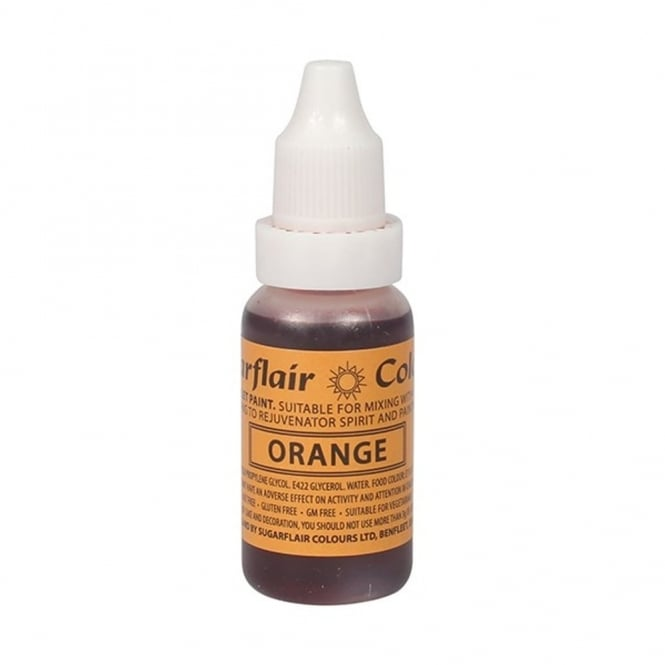 Colorant alimentaire liquide 14 ml - Orange