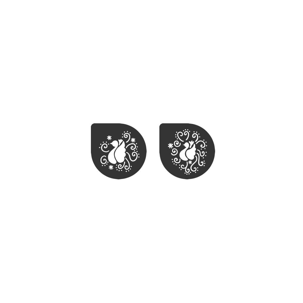 Pochoirs – Oiseaux - Lot de 2