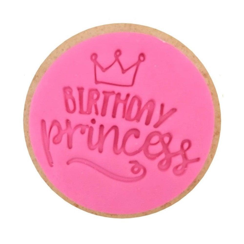Empreinte Cupcakes et Cookies - Birthday Princesse