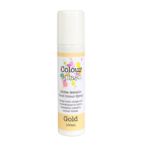 Spray alimentaire 100 mL – Or