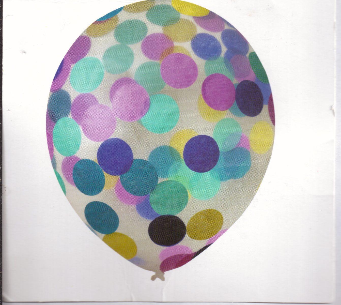 Ballons – Confetti - Lot de 6