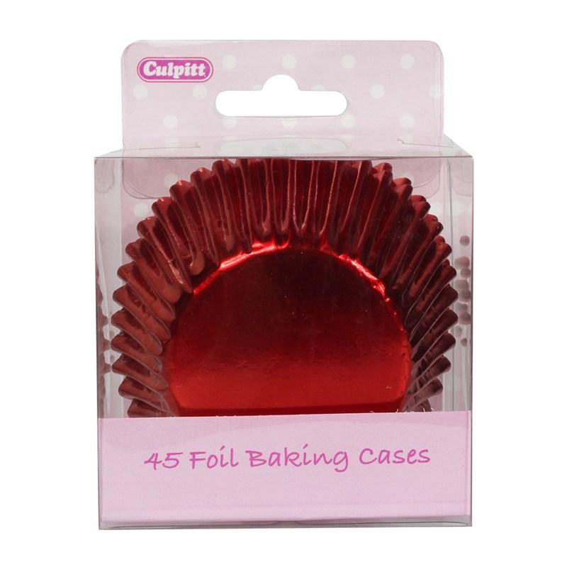 Caissettes de Cupcake - Rouge - Lot de 45
