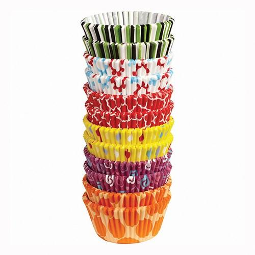 Caissettes à cupcake - Fête - Lot de 300
